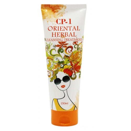 Парфюмированная маска для волос с экстрактами восточных трав Esthetic House CP-1 Oriental Herbal Cleansing Treatment
