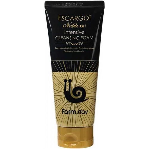 Интенсивная восстанавливающая пенка с экстрактом улитки FARMSTAY Escargot Noblesse Intensive Cleansing Foam