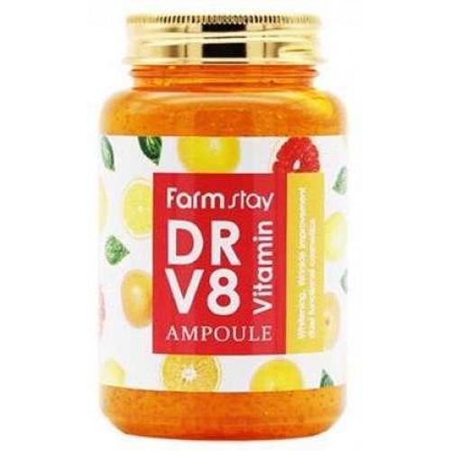 Многофункциональная витаминная сыворотка FARMSTAY DR-V8 Vitamin Ampoule