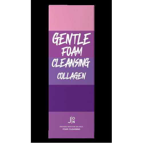 Нежная пенка для умывания с коллагеном J:ON Gentle Foam Cleansing Collagen
