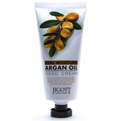Крем для рук с аргановым маслом Jigott Argan Hand Cream