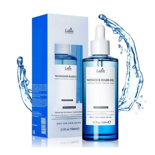 Увлажняющее масло с легким цветочным ароматом для восстановления и блеска волос La'dor Wonder Hair Oil