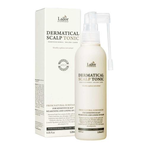 Тонер для кожи головы против выпадения волос La'dor Dermatical Scalp Tonic
