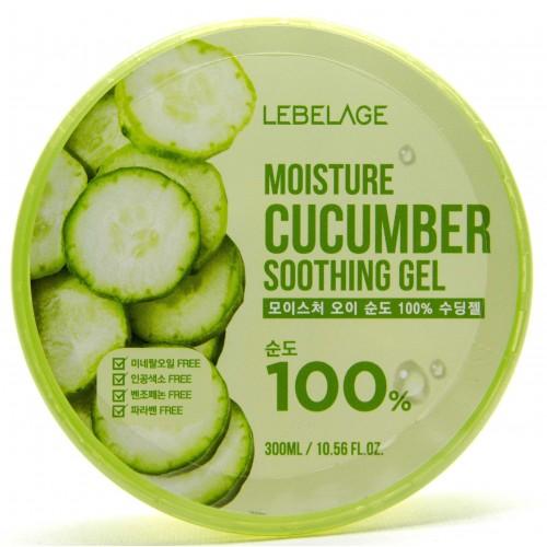 Многофункциональный гель с витаминами Lebelage Moisture Cucumber 100% Soothing Gel