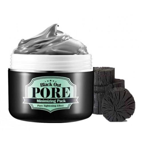 Волшебная маска для глубокого очищения и сужения пор Secret Key Black Out Pore Minimizing Pack