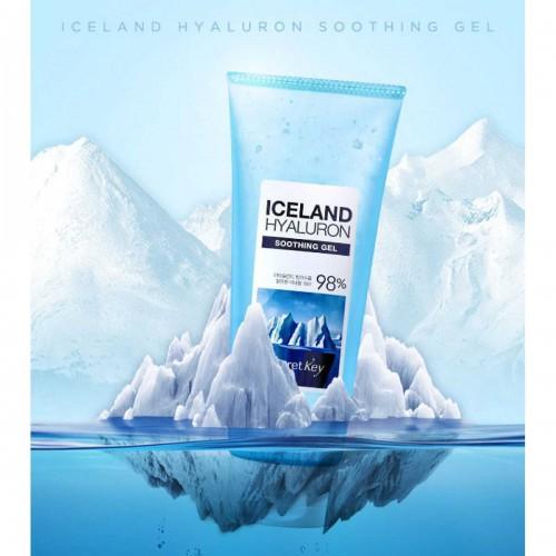 Увлажняющий гель для тела с минеральной водой Исландии Secret Key Iceland Hyaluron Soothing Gel