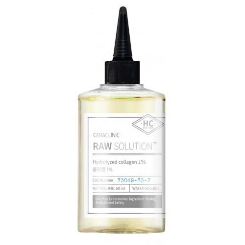 Сыворотка с коллагеном для упругости и эластичности кожи и волос CERACLINIC Raw Solution Hydrolyzed Collagen 1%