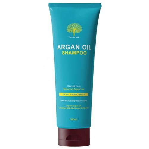 Шампунь с аргановым маслом EVAS Char Char Argan Oil Shampoo 100 ml