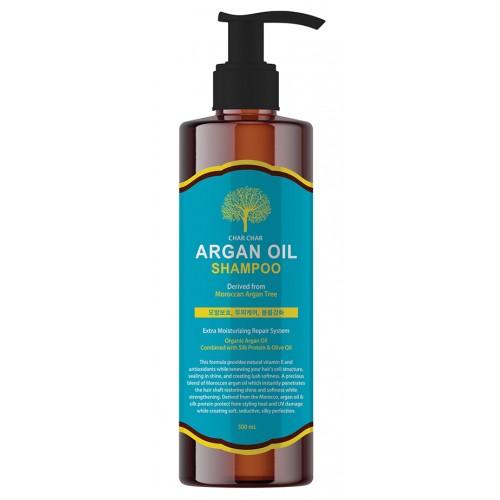 Шампунь с аргановым маслом EVAS Char Char Argan Oil Shampoo 500 ml