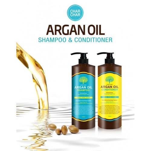 Кондиционер для волос с аргановым маслом EVAS Char Char Argan Oil Conditioner 100 ml