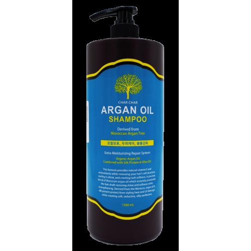 Шампунь с аргановым маслом EVAS Char Char Argan Oil Shampoo 1500 ml