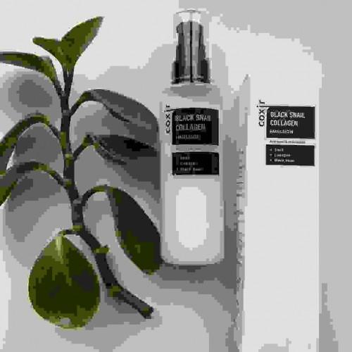 Антивозрастная питательная эмульсия с муцином черной улитки и коллагеном COXIR Black Snail Collagen Emulsion