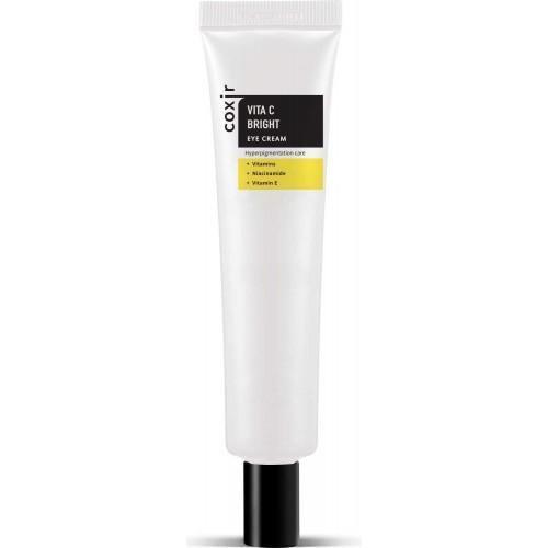 Крем для кожи вокруг глаз с витамином Coxir Vita C Bright Eye Cream