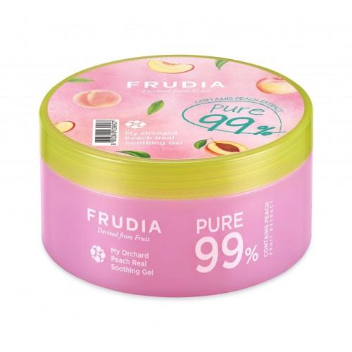 Универсальный успокаивающий гель с растительными экстрактами Frudia My Orchard Peach Real Soothing Gel