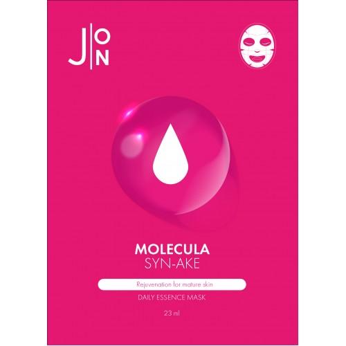 НАБОР Тканевая маска для лица ЗМЕИНЫЙ ПЕПТИД J:ON Molecula Syn-Ake Daily Essence Mask