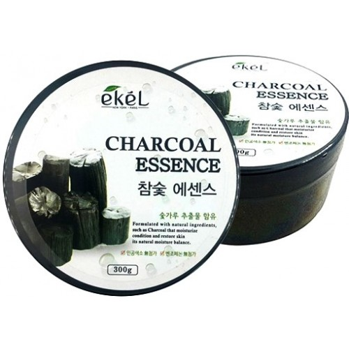 Успокаивающий гель с экстрактом древесного угля Ekel Soothing Gel Charcoal