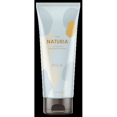 Скраб для тела молочный Naturia Creamy Oil Salt Scrub Milk Me