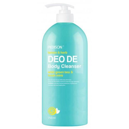 Дезодорирующий гель для душа EVAS Pedison Lemon & Herb Deo De Body Cleanser 500ml
