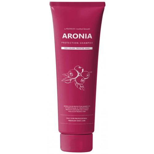 Шампунь с экстрактом аронии для окрашенных волос EVAS Pedison Institut-beaute Aronia Color Protection Shampoo 100ml