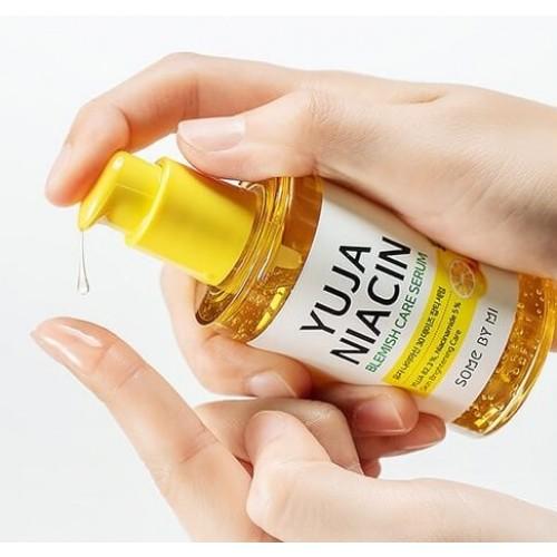 Сыворотка осветляющая с экстрактом юдзу Some By Mi Yuja niacin blemish care serum