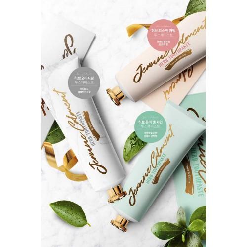 Зубная паста для ухода за чувствительными зубами и деснами Evas Jeanne Calment Herb Toothpaste Peace & Calming